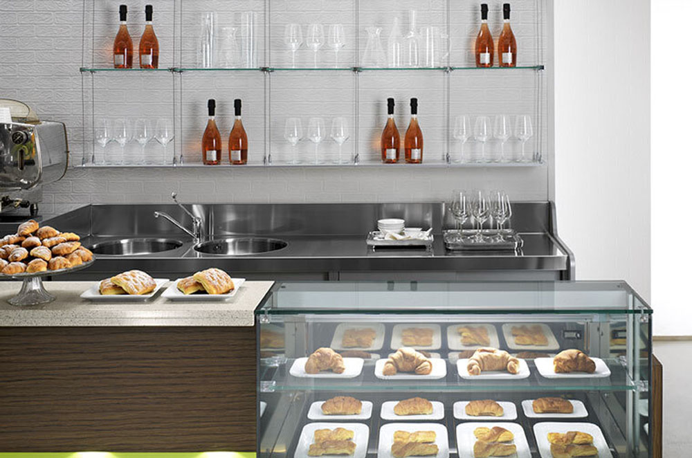 arredamento caffetteria bar negozio alimentari lecce cdl italia