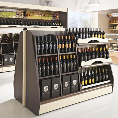arredo supermercato espositore vini liquori lecce cdl italia