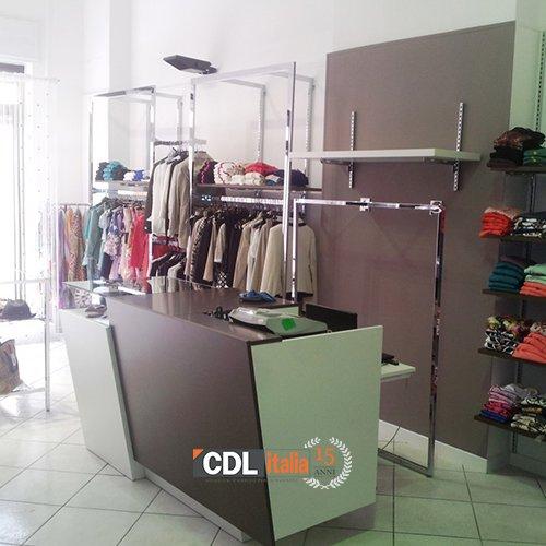banco vendita negozio abbigliamento cdl italia