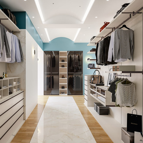 progettazione cabina armadio dressing room lecce provincia cdl italia