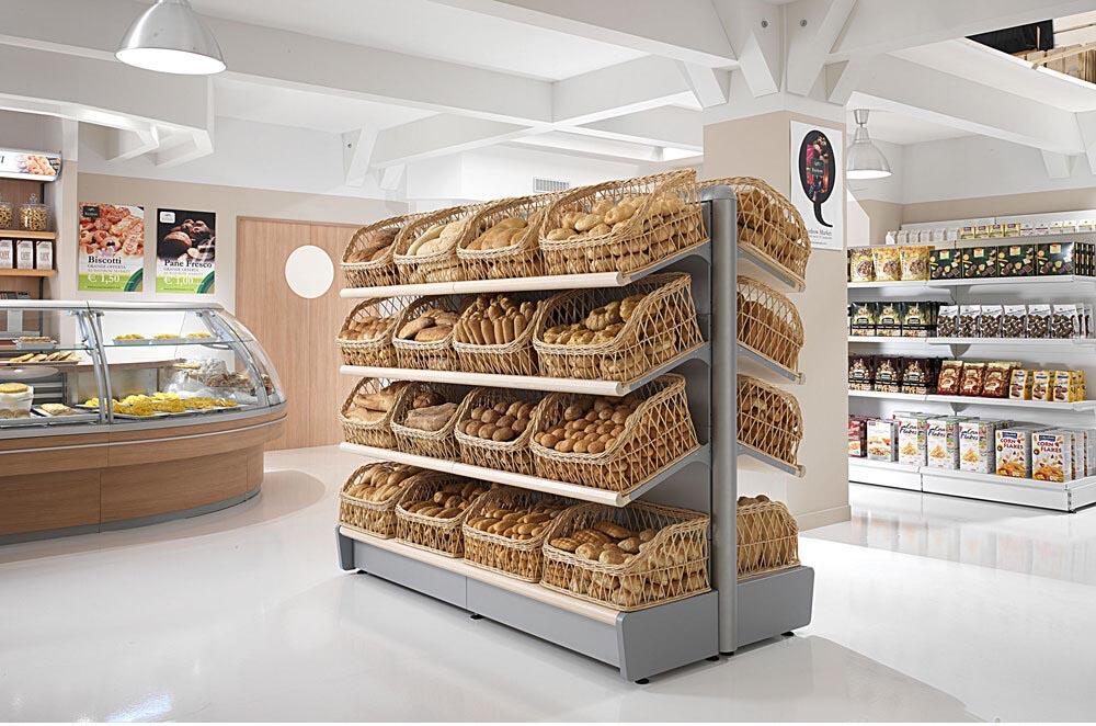 supermercato arredamento panificio negozio alimentari lecce cdl italia