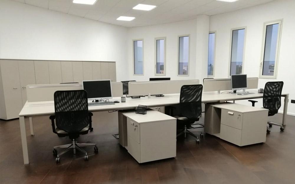 progettazione arredamento ufficio operativo lecce cdl italia